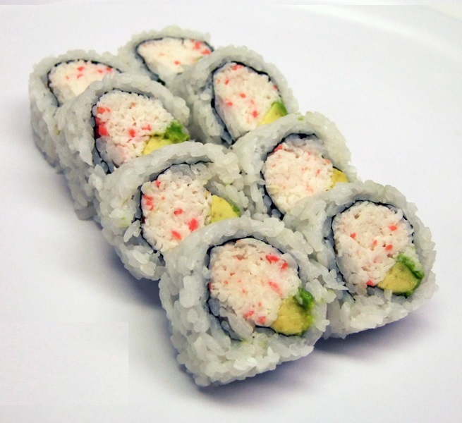FREE California Roll or Mini Spring Rolls when your order over $35 (before tax), Take out only