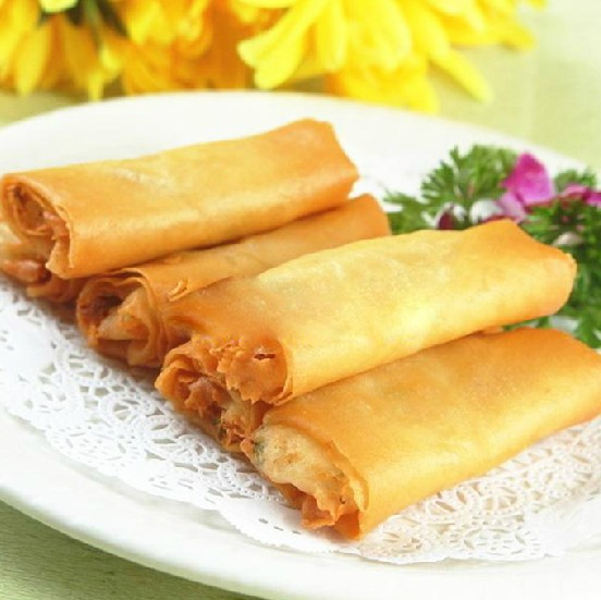 Free California Roll or Mini Spring Rolls with order of $35 (before tax).  Take-Out Only